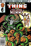 Cover Thumbnail for Marvel Two-in-One (1974 series) #95 [Newsstand]