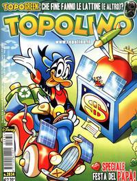 Cover Thumbnail for Topolino (The Walt Disney Company Italia, 1988 series) #2834
