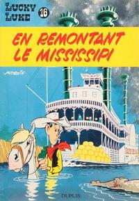 Cover Thumbnail for Lucky Luke (Dupuis, 1949 series) #16 - En remontant le Mississipi