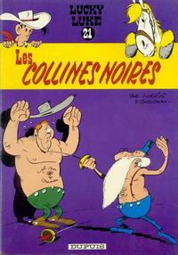 Cover Thumbnail for Lucky Luke (Dupuis, 1949 series) #21 - Les collines noires