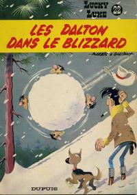Cover Thumbnail for Lucky Luke (Dupuis, 1949 series) #22 - Les Dalton dans le blizzard