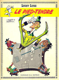 Cover Thumbnail for Lucky Luke (Dargaud, 1968 series) #33 - Le Pied-Tendre