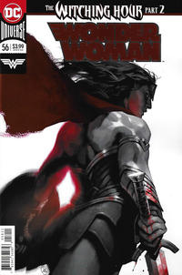 Cover Thumbnail for Wonder Woman (DC, 2016 series) #56 [Yasmine Putri Foil Cover]
