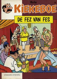 Cover Thumbnail for Kiekeboe (Standaard Uitgeverij, 1990 series) #39