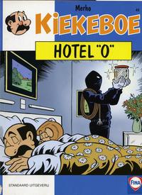 """Cover Thumbnail for Kiekeboe (Standaard Uitgeverij, 1990 series) #44 - Hotel """"O"""""""