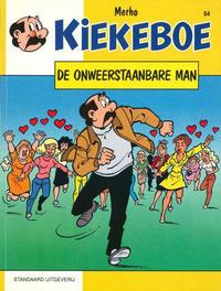 Cover Thumbnail for Kiekeboe (Standaard Uitgeverij, 1990 series) #64 - De onweerstaanbare man