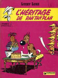 Cover Thumbnail for Lucky Luke (Dargaud, 1968 series) #41 - L'héritage de Rantanplan