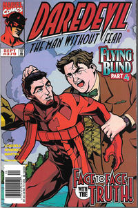 Cover for Daredevil (Marvel, 1964 series) #379 [Newsstand]