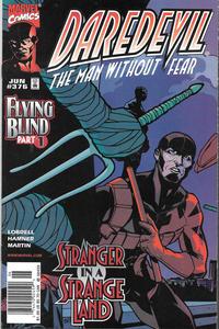 Cover Thumbnail for Daredevil (Marvel, 1964 series) #376 [Newsstand]