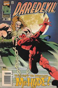Cover Thumbnail for Daredevil (Marvel, 1964 series) #353 [Newsstand]