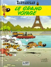 Cover Thumbnail for Rantanplan (Lucky Comics, 1989 series) #13 - Le grand voyage