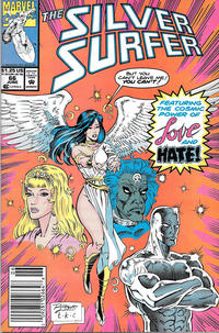 Cover Thumbnail for Silver Surfer (Marvel, 1987 series) #66 [Newsstand]