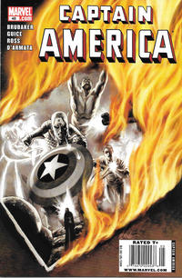 Cover Thumbnail for Captain America (Marvel, 2005 series) #48 [Newsstand]