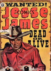 Cover Thumbnail for Jesse James Comics (Thorpe & Porter, 1952 series) #5