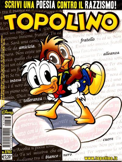 Cover for Topolino (The Walt Disney Company Italia, 1988 series) #2783