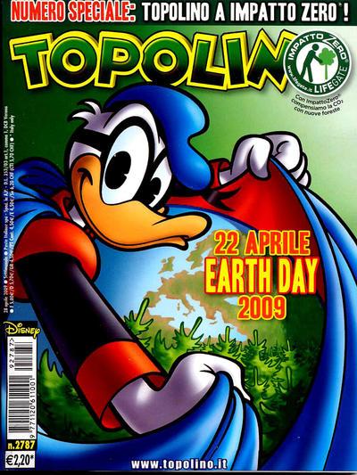 Cover for Topolino (The Walt Disney Company Italia, 1988 series) #2787