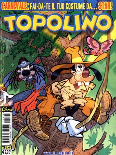 Cover for Topolino (The Walt Disney Company Italia, 1988 series) #2828