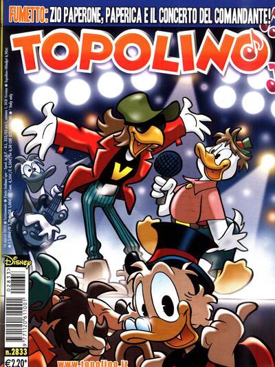 Cover for Topolino (The Walt Disney Company Italia, 1988 series) #2833