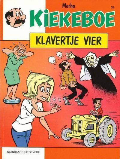 Cover for Kiekeboe (Standaard Uitgeverij, 1990 series) #31