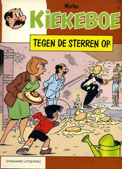 Cover for Kiekeboe (Standaard Uitgeverij, 1990 series) #5