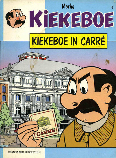 Cover for Kiekeboe (Standaard Uitgeverij, 1990 series) #6