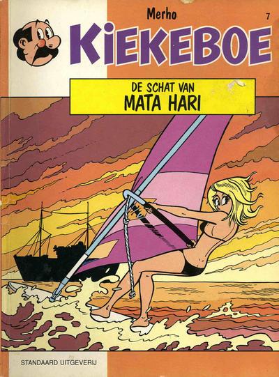 Cover for Kiekeboe (Standaard Uitgeverij, 1990 series) #7