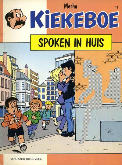 Cover for Kiekeboe (Standaard Uitgeverij, 1990 series) #11