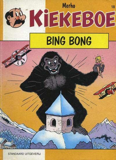 Cover for Kiekeboe (Standaard Uitgeverij, 1990 series) #18