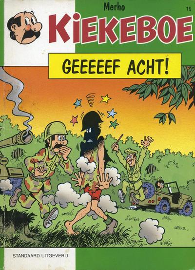 Cover for Kiekeboe (Standaard Uitgeverij, 1990 series) #19 - Geeeeef acht!