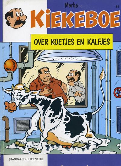 Cover for Kiekeboe (Standaard Uitgeverij, 1990 series) #28