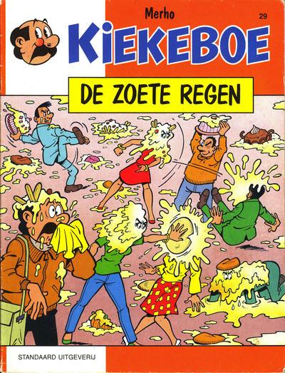 Cover for Kiekeboe (Standaard Uitgeverij, 1990 series) #29