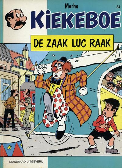Cover for Kiekeboe (Standaard Uitgeverij, 1990 series) #34