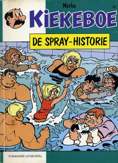 Cover for Kiekeboe (Standaard Uitgeverij, 1990 series) #42