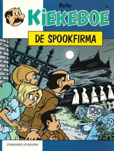 Cover for Kiekeboe (Standaard Uitgeverij, 1990 series) #43