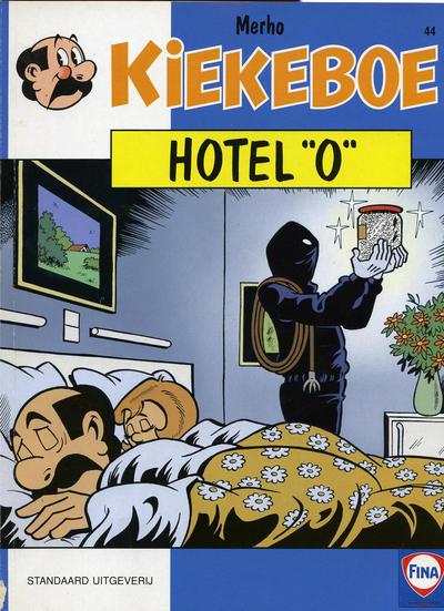 """Cover for Kiekeboe (Standaard Uitgeverij, 1990 series) #44 - Hotel """"O"""""""