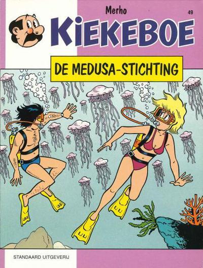 Cover for Kiekeboe (Standaard Uitgeverij, 1990 series) #49