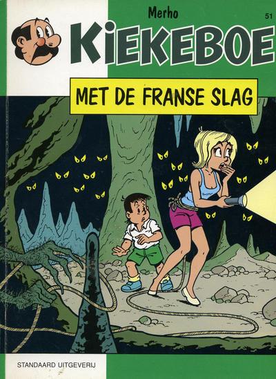 Cover for Kiekeboe (Standaard Uitgeverij, 1990 series) #51 - Met de Franse slag