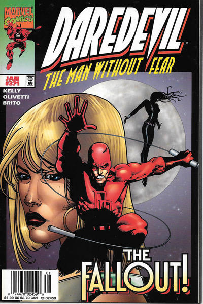 Cover for Daredevil (Marvel, 1964 series) #371 [Newsstand]