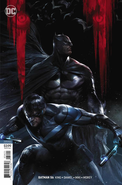Cover for Batman (DC, 2016 series) #56 [Francesco Mattina Cover]