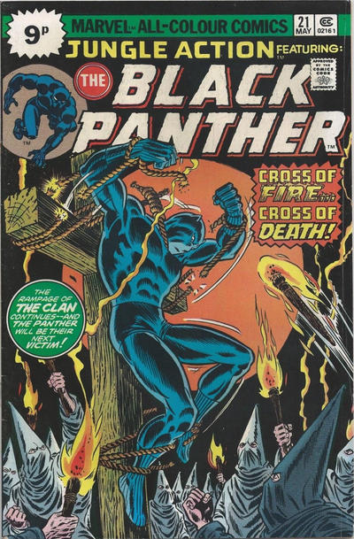 Cover for Jungle Action (Marvel, 1972 series) #21 [25¢]