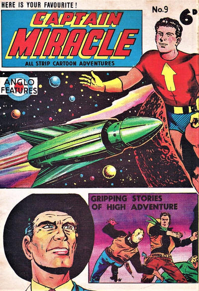 Cover for Captain Miracle (Mick Anglo Ltd., 1960 series) #9