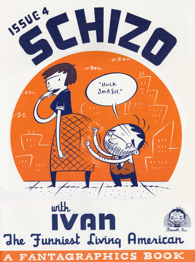 Cover for Schizo (Fantagraphics, 1995 series) #4