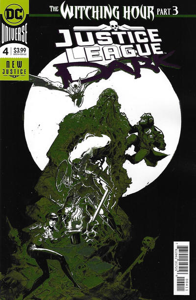 Cover for Justice League Dark (DC, 2018 series) #4 [Riley Rossmo Foil Cover]