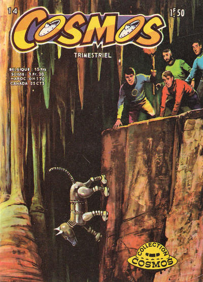 Cover for Cosmos (Arédit-Artima, 1967 series) #14