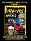 Cover for Gwandanaland Comics (Gwandanaland Comics, 2016 series) #378 - The Complete Web of Evil: Volume 1