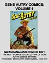 Cover for Gwandanaland Comics (Gwandanaland Comics, 2016 series) #391 - Gene Autry Comics: Volume 1