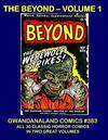 Cover for Gwandanaland Comics (Gwandanaland Comics, 2016 series) #383 - The Beyond - Volume 1