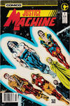 Cover for Justice Machine (Comico, 1987 series) #2 [Newsstand]
