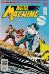 Cover for Justice Machine (Comico, 1987 series) #5 [Newsstand]