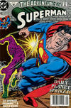 Cover for Adventures of Superman (DC, 1987 series) #482 [Newsstand]